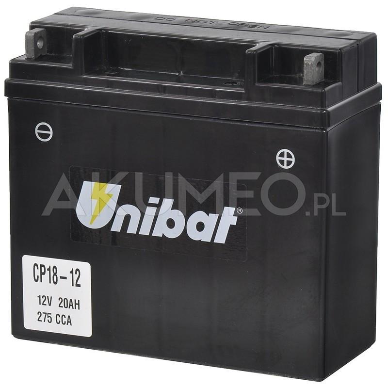 Akumulator Unibat Agm Cp18 12 12v 20ah 275a Prawy Sklep