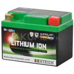 Akumulator litowo-jonowy Skyrich Lithium ION HJTX5L-FP 12V 19.2Wh/1.6Ah 96A prawy+