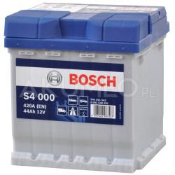 Akumulator Bosch S4 000 12V 44Ah 420A prawy+