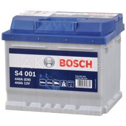 Akumulator Bosch S4 001 12V 44Ah 440A prawy+