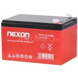 Akumulator GEL NEXON ST-LINE 12-12L VRLA 12V 12Ah