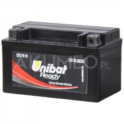 Akumulator UNIBAT AGM CBTX7A-FA 12V 6Ah 90A lewy+