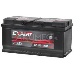 Akumulator Expert Batterien 12V 90Ah 800A prawy+