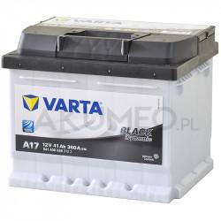 Akumulator Varta Black Dynamic A17 12V 41Ah 360A prawy+